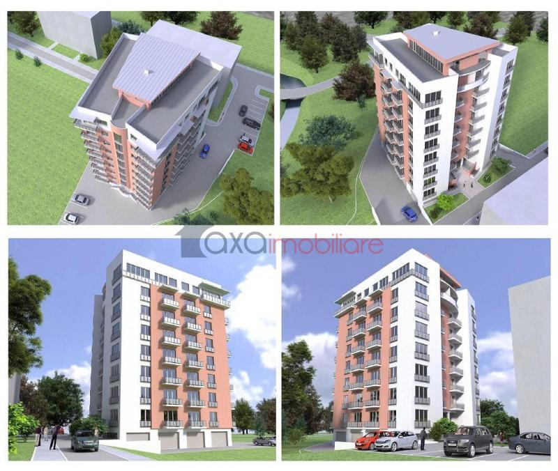 Apartment 2 rooms for  sell in Cluj-napoca, Plopilor ID 650