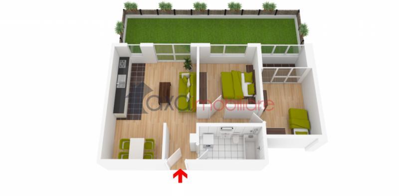Apartament 2 camere de  vanzare in Cluj Napoca, BORHANCI
